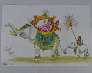 sheba drawing