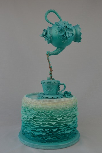 Teal Still Moment High Tea