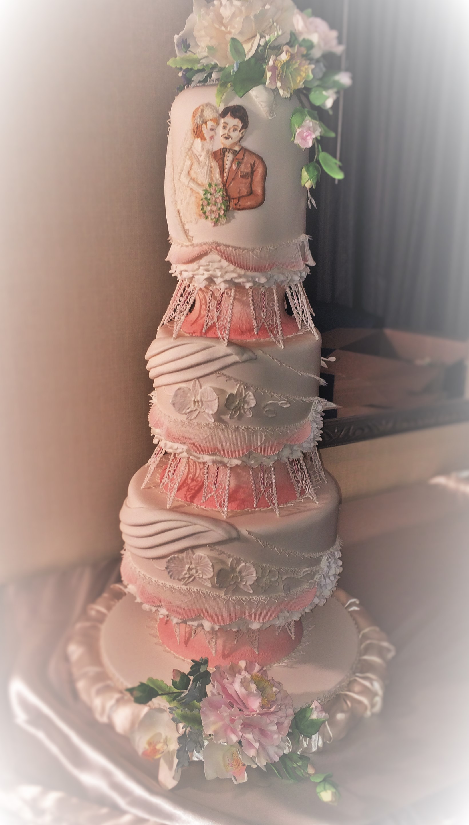 Ossas 2014 Grand National Wedding Cake Competition Usa